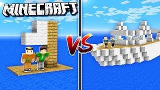 THE PALS NOOBS vs. PRO - BOAT CHALLENGE! (Minecraft Noob vs. Pro Build)