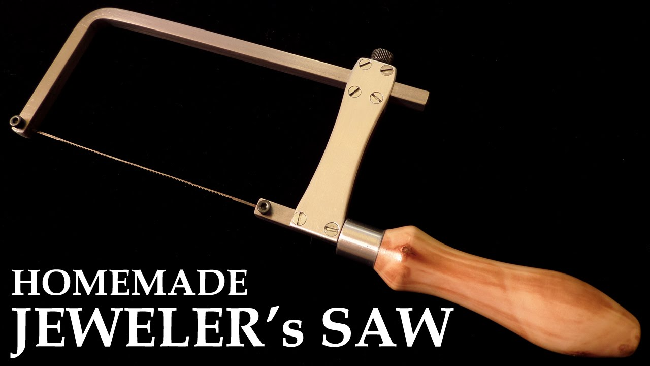 Homemade jewelers saw metal cutting coping saw youtube keyboard keysfo