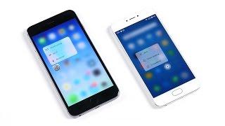 PRO 6 на 10 ядер VERSUS iPhone 6S Plus - эпик вообще!