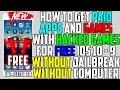 Get PAID Apps + HACKED Games FREE iOS 10 - 10.2 / iOS 9 (NO JAILBREAK NO COMPUTER) iPhone iPad iPod
