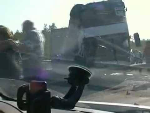 Видео ДТП на Мурманском шоссе
