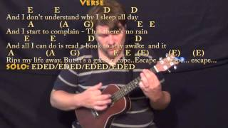 No Rain (Blind Melon) Ukulele Cover Lesson with Chords/Lyrics