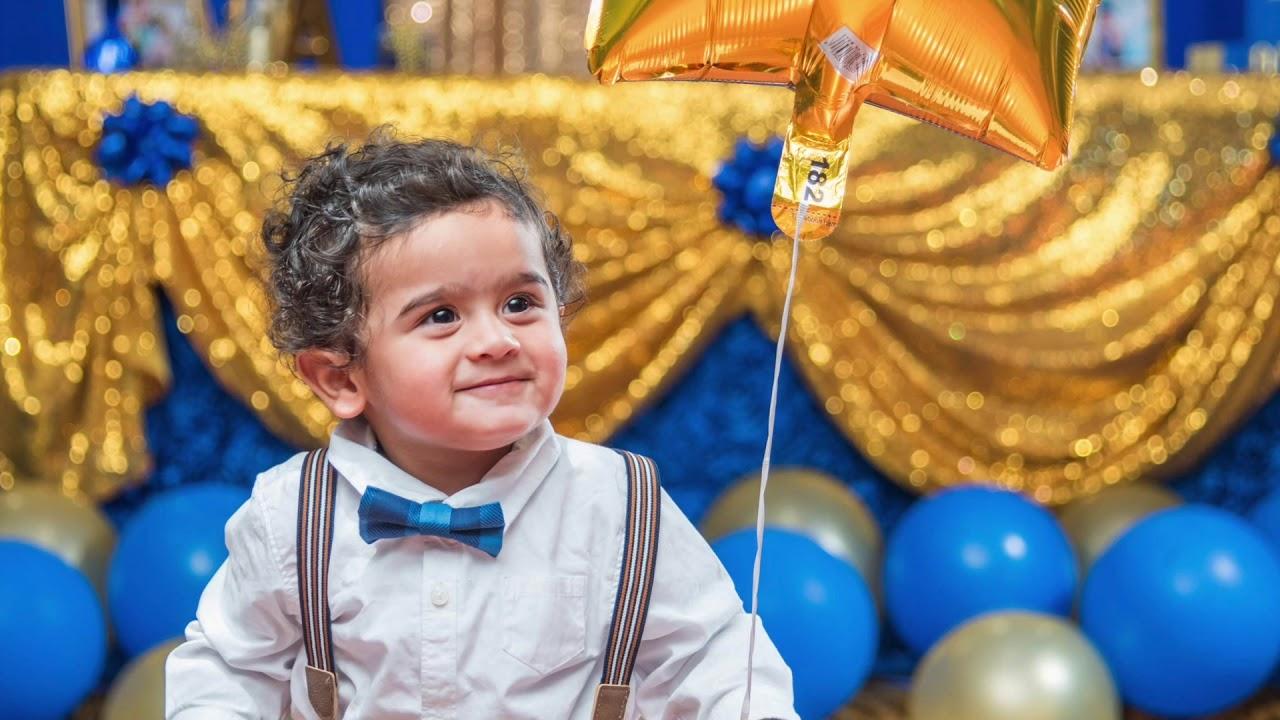 1st Birthday Celebration Royal Prince Theme Youtube