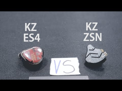 Kz zsn VS Kz es4 - Comparison