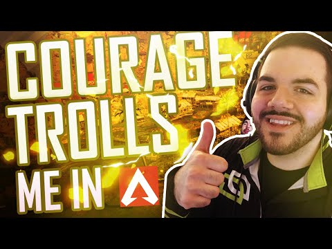 COURAGE TROLLS ME IN APEX! - Apex Legends Funny Moments