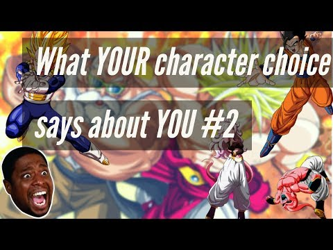 What YOUR character choice says about YOU [Dragon Ball FighterZ] [Part 2]