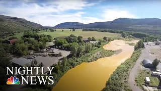 Toxic Sludge in Colorado River Threatens Drinking Water Supply | NBC Nightly News