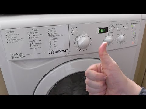 Indesit Washing Machine Problems >> How to Repair Indesit IWDD7123 or IWDD7143 with flashin...   Doovi