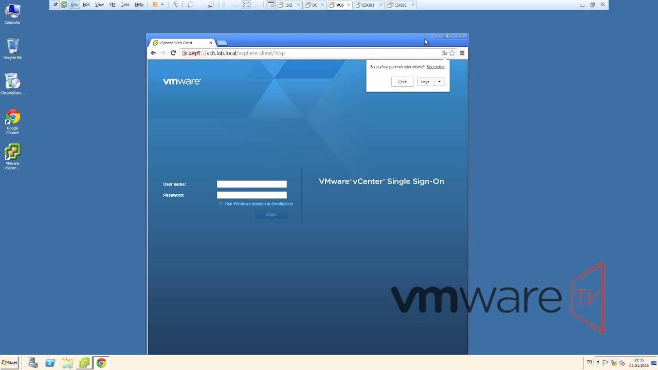 VMware ESXi 6 Installation and Configuration