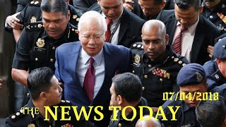 Former Malaysian PM Pleads Not Guilty To Charges In 1MDB Graft Probe | News Today | 07/04/2018 ...