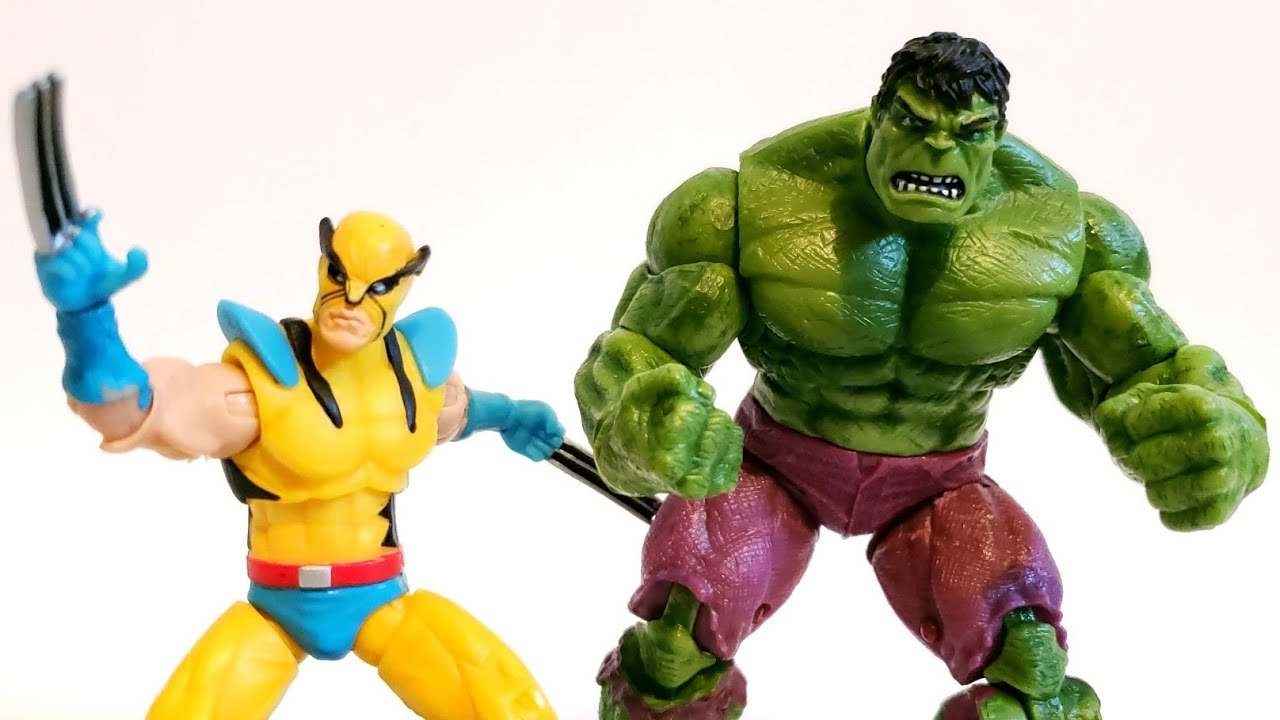 Marvel univers plus grandes batailles de l/'apparence 1st Wolverine loose Hulk COMIC PACK