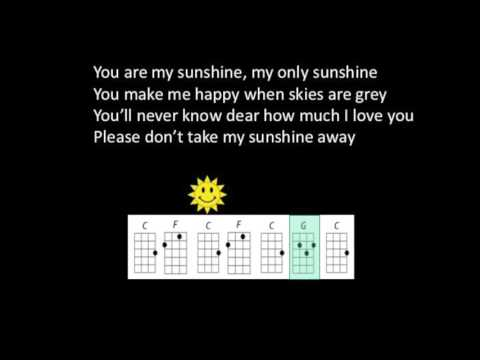 62 Mb You Are My Sunshine Ukulele Chords Free Download Mp3