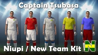 SUPER CAMPEONES / CAPTAIN TSUBASA PS4: NIUPI - NEW TEAM KIT PES 2016