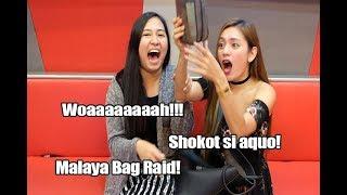 SHOKOT AKO SA BAG NI MALAYA!!! (BAG RAID #8)