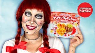 Annabelle robi gofry z proszku - JAPANA zjadam #138 | Agnieszka Grzelak Vlog