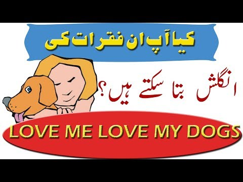 Common English Sentences Of Daily Use In Set 1 #English in Urdu