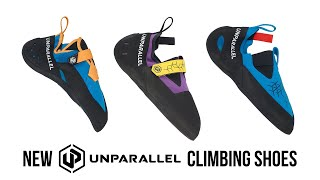 Unparallel - Up-Rise, Duel, and Lyra Climbing Shoes