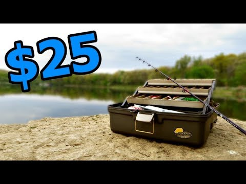 BEST $25 Winter Tackle Box (Ft. Lojofishing & KickinTheirBASSTV)