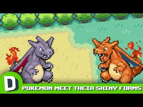 Pokemon Meet Their Shiny Forms