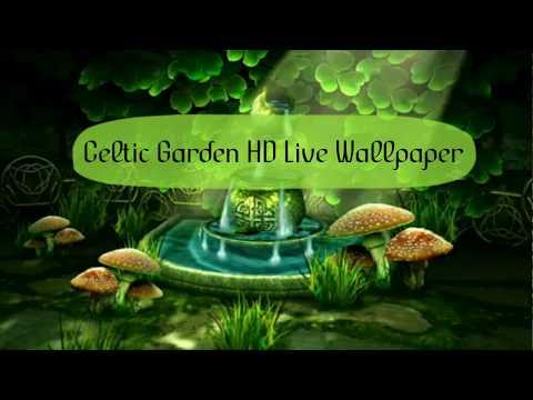 Celtic Garden HD Live Wallpaper