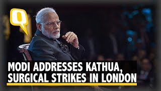 PM Modi Talks Rape, Surgical Strike And More at Diaspora Event in Central London | The Quint