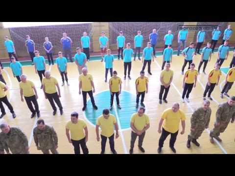 Богодухов TV. У Богодухові пройшов флешмоб на підтримку ветеранів АТО і учасників бойових дій