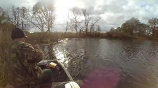 Рыбалка на малых реках Черноземья. Улыбка осени.