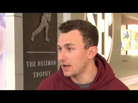 'GMA' Hot List: Johnny Manziel says he was 'self-medicating with alcohol'