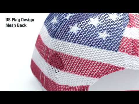 OTTO's New American Flag Baseball Cap Style No.88-1280
