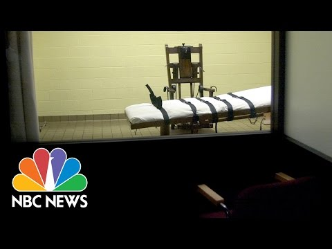 What It's Like To Witness An Execution | NBC News
