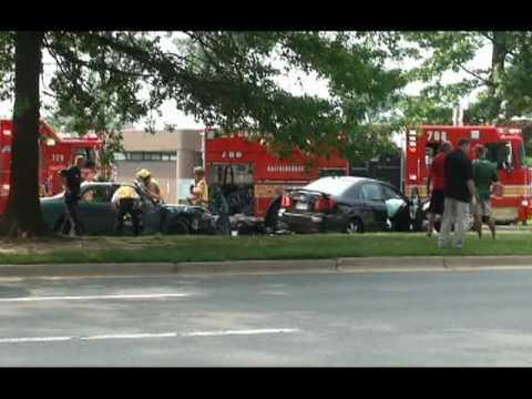 Car Accident on Montgomery Village Avenue