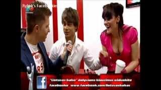 Alexander Rybak. Interview at Lietuvos Balsas. 08.04.2012