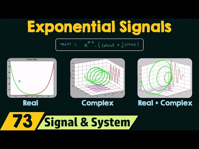 Exponential Signals (Real and Complex)