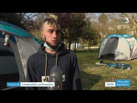 Coronavirus : à La Rochelle Un Camping Ouvre Pour Les SDF Avec Des Chiens