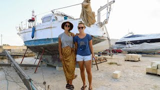 Polish Girl buys Sail Boat for €1 !!      ......    Yes, that is ONE EURO. Ep. 122