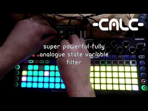 Novation Circuit Mono Station Test Drive