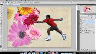 Roger Federer Wallpaper: Making Of