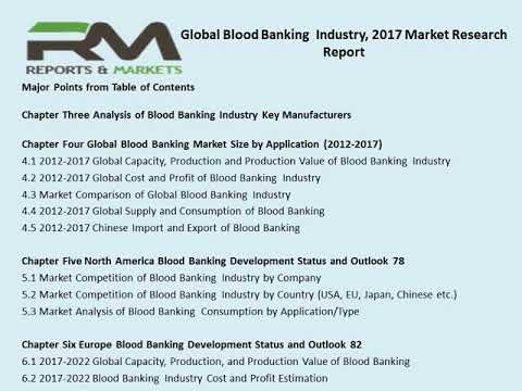 Global Blood Banking Market Size, Status and Forecast 2025