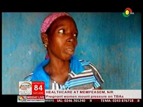 Pregnant women mount pressure on traditional birth attendant - 13/9/2016