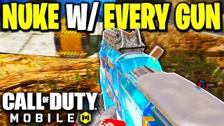 Nuke with Every Gun in Call of Duty Mobile! - Pharo SMG