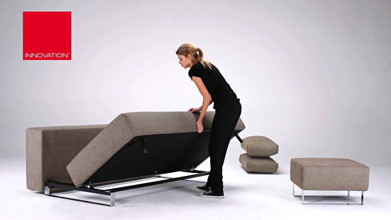 Supremax Excess Lounger Sofa By Innovation Living USA   YouTube