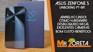 Asus Zenfone 5 - Um dos melhores aparelhos pelo preço! - Unboxing e primeiras impressões