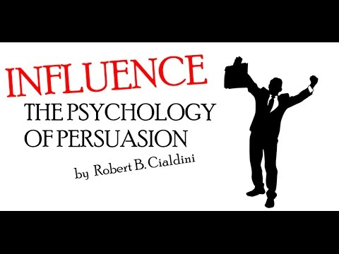 INFLUENCE: THE PSYCHOLOGY OF PERSUASION. ANIMATED BOOK SUMMARY