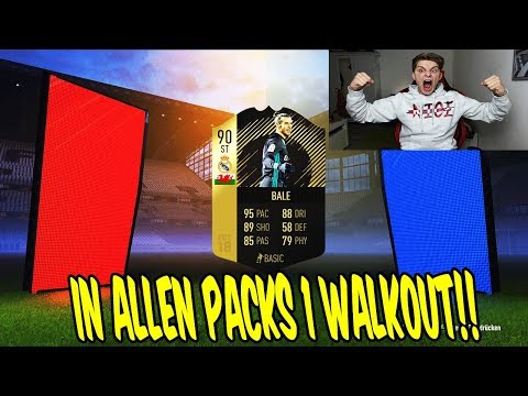 IN ALLEN FUT CHAMPIONS REWARDS 1 WALKOUT! 💎⛔️ Fifa 18 Pack Opening Ultimate Team