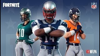 NEW FORTNITE NFL TRAILER - NEW FORTNITE AMERICAN FUTBOL FILTERED SKINS * FORTNITE RUGBY*