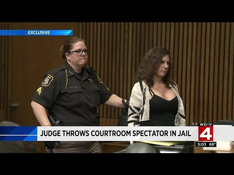 Disgusted Judge Throws Drunk Driver's Mom in Prison for Laughing at Victim's Family in Court