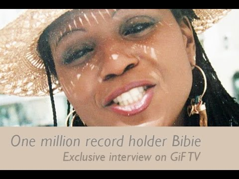GiF one million record star Bibie on GiF TV