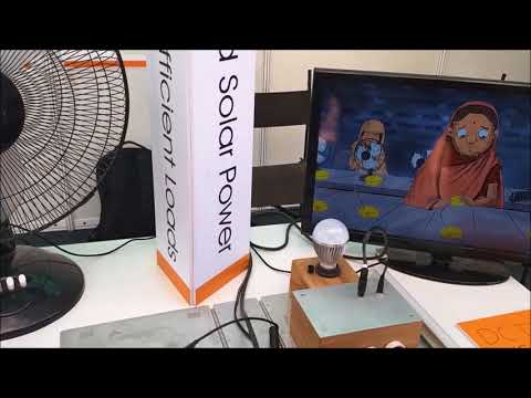 IIT bombay Techfest(2017-18):- Electrical Energy Saving less power DC fan and  TV