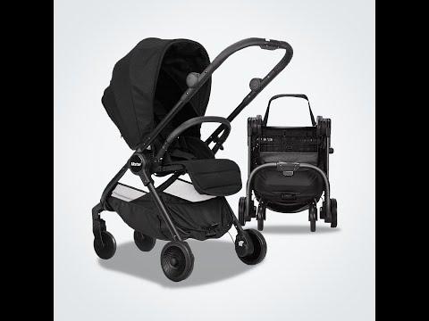 Mamaland Mstar Two 2 Ways Facing Reversible Facing Travel Compact Fold Backpack Baby Stroller