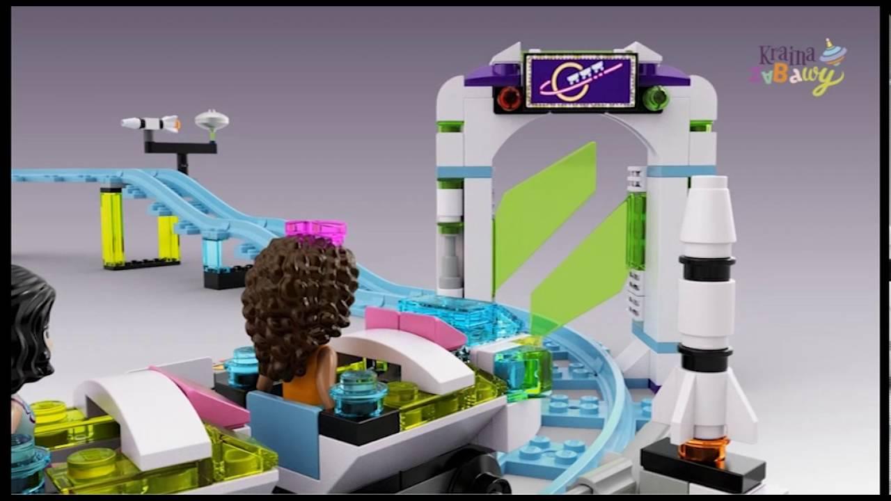 Lego Friends Kolejka Górska W Parku Rozrywki 41130 Www